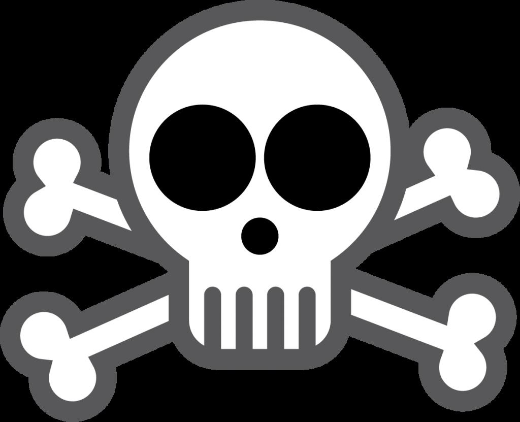 1024x831 Crossbones Skull Drawing Transparent Png Clipart Free Download
