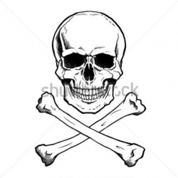 250x250 Crossbones Clipart Skull Drawing, Picture