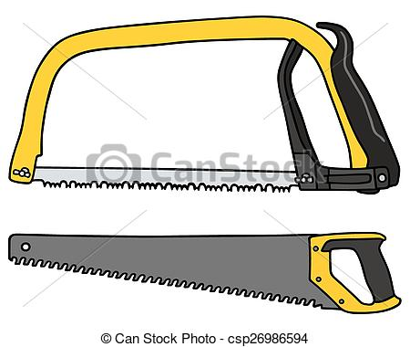 Crosscut Saw Drawing | Free download on ClipArtMag