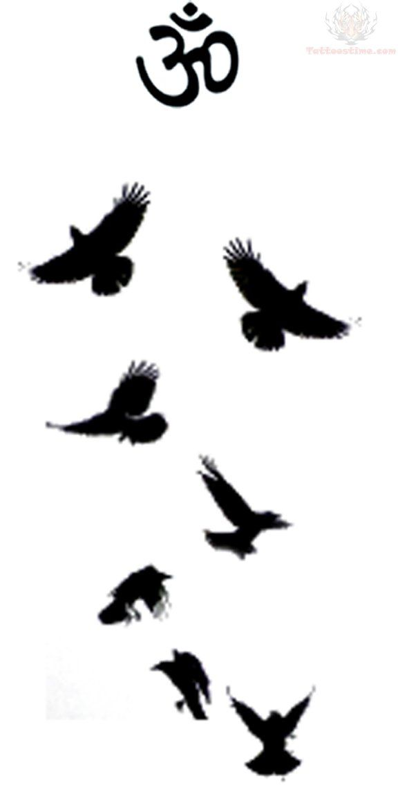 576x1152 Image Result For Murder Of Crows Tattoo Tattoos Crow Tattoo