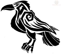 236x208 Tribal Crow Tattoo Designs Group With Items