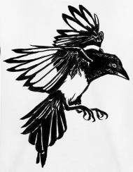 190x244 Crow Tattoo Kids' Premium T Shirt Spreadshirt