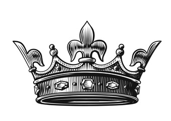 340x240 King Crown Drawing Photos, Royalty Free Images, Graphics, Vectors