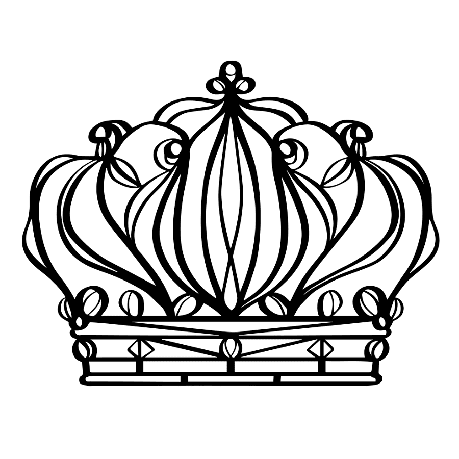 900x900 Crown Temporary Tattoo And Crown Fake Tattoos