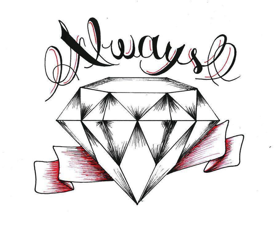 900x736 Diamond Drawing Tattoo Cool Eyecatching Tatoos Crown Drawings