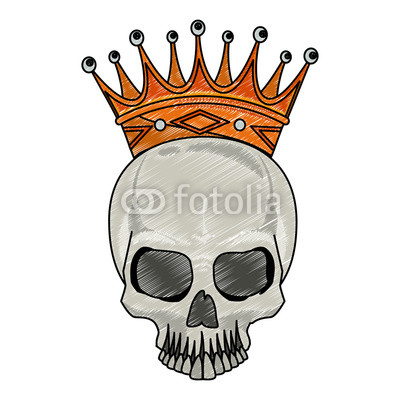 400x400 Tattoo Skull Drawing Scribble Buy Photos Ap Images Detailview
