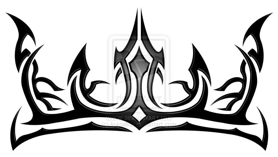 900x508 Umberta Crown Tattoo Design