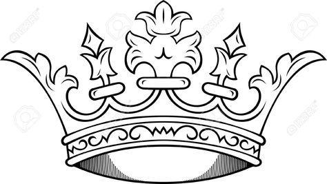 474x267 Simple King Crown Drawing