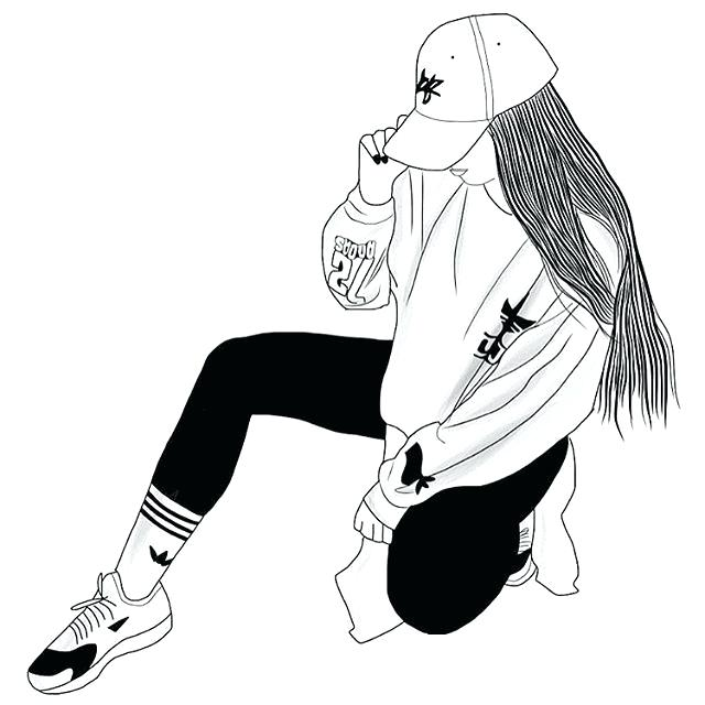 640x640 outlines tumblr and tumblr outlines girl with crown