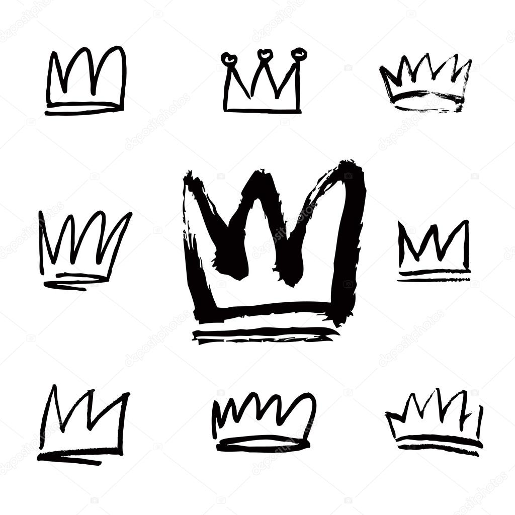 Crown Drawing Vector