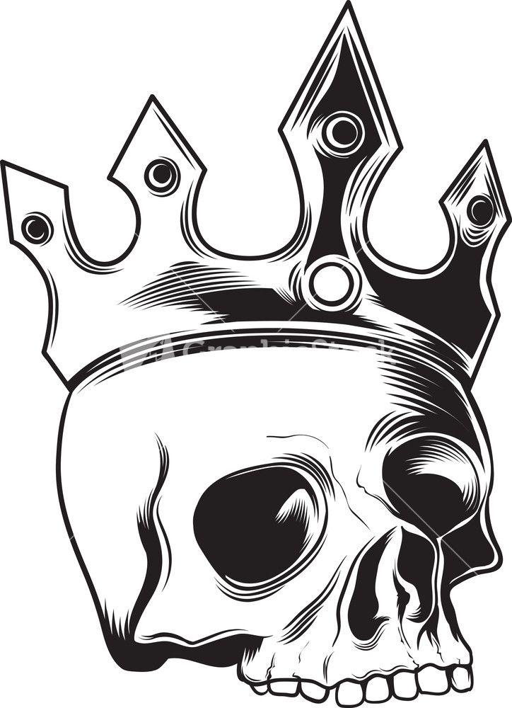 724x1000 Resultado De Imagem Para Crown Vector Tattoo Outline Crown