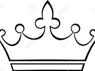 320x240 Simple Crown Drawing Crown Outline Royalty Free Cliparts Vectors