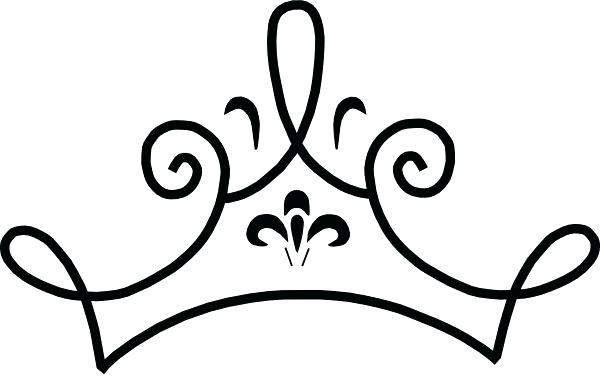 600x376 Crown Outline Template