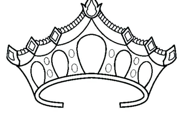 600x383 tiara coloring pages new photos princess tiara drawing