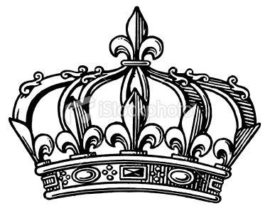 380x307 Fleur De Lis Crown Tiny Tattoo Ideas Claddagh Tattoo, Flur De
