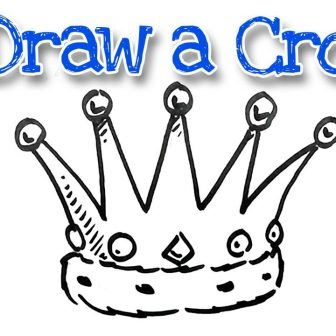 336x336 Simple Crown Tattoo Drawing A Png Flower Outline King And Queen
