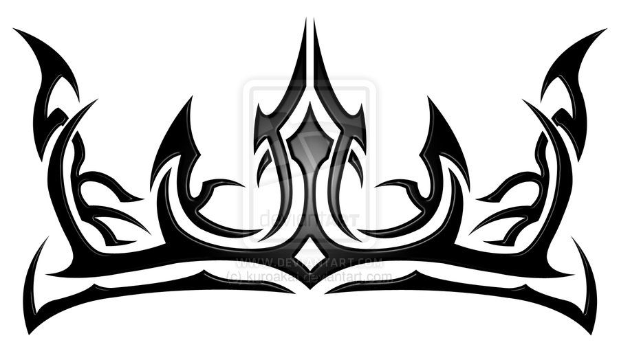 900x508 Tribal Crown For The Lion Tattoos Crown Tattoo Design, Tribal