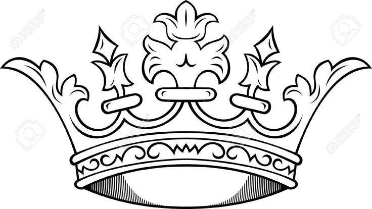 736x414 Crown Tattoo Design