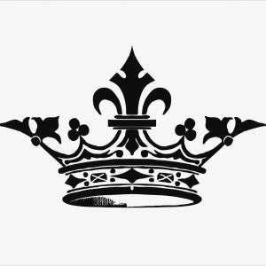 300x300 Queen Crown Tattoo