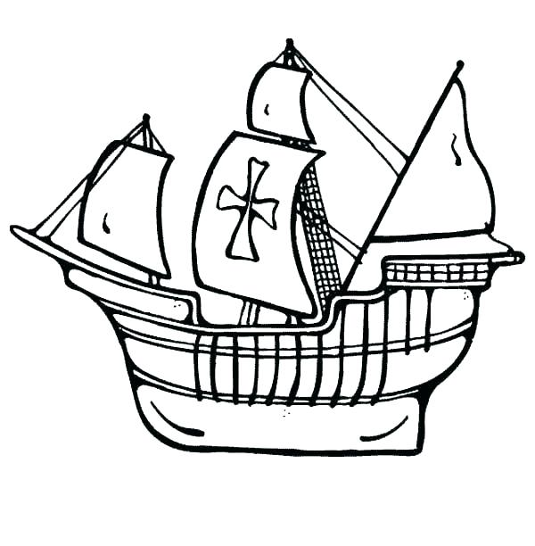 600x612 ship coloring pages ship coloring pages cruise line sailing ship