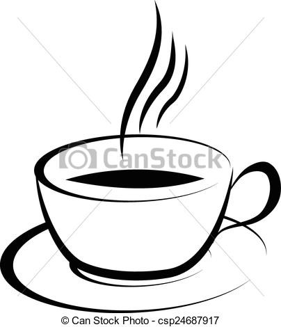 404x470 coffee cup vector clip art with coffee cup drawing