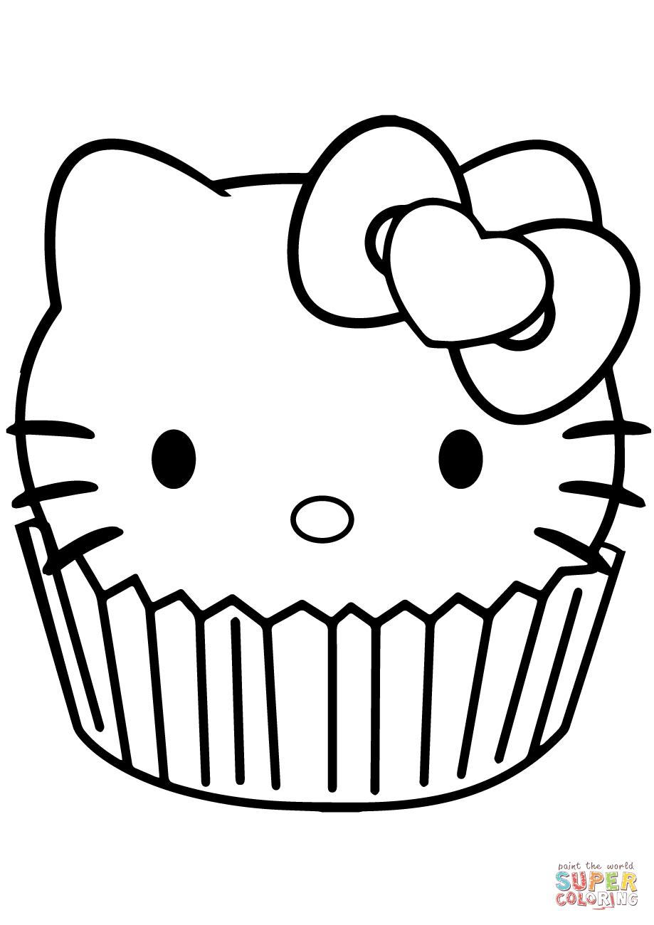 Cupcake Drawing Easy