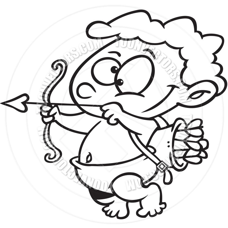 Cupid Cartoon Drawing