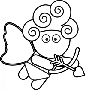 283x300 Printable Cupid Clipart Drawing Pictures Coloring Pages