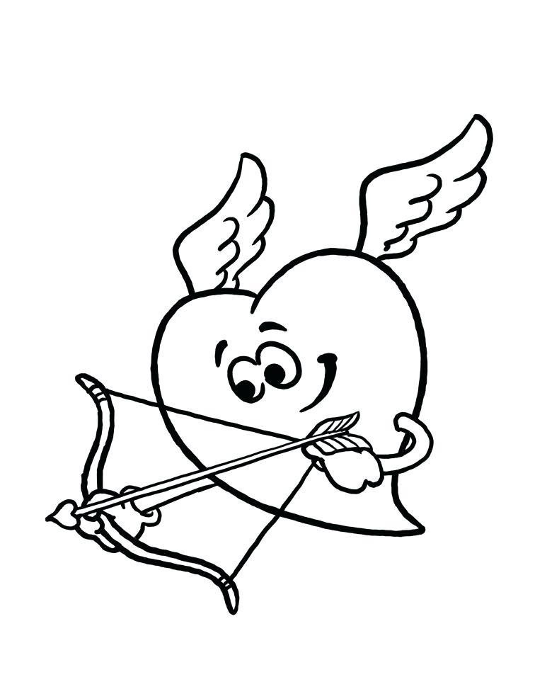 773x956 Cupid Coloring Pages Cupid Coloring Pages Valentine Cupid Coloring