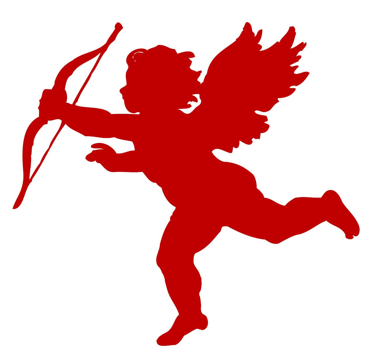 1282x1223 Simple Cupid Drawing Images Pictures