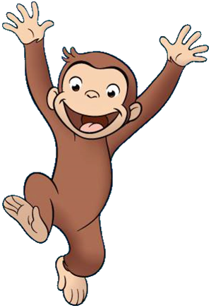 299x436 Collection Of Free Monkey Drawing Curious George Download On Ui Ex