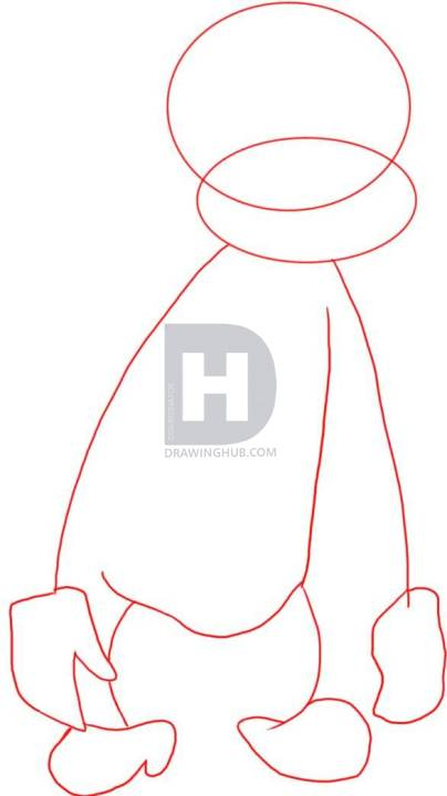 404x720 How To Draw Curious George, Step