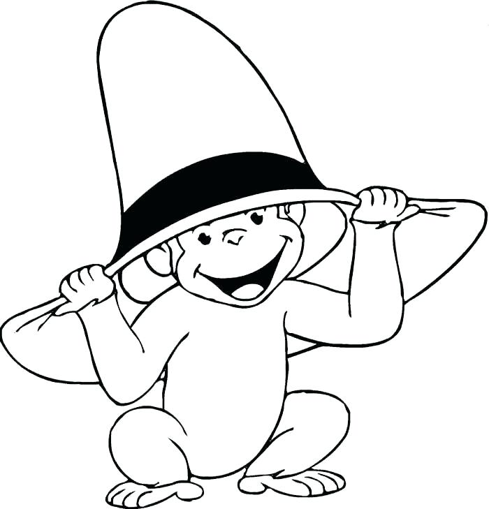 700x729 Curious George Coloring Pages Download Free Printable And Coloring