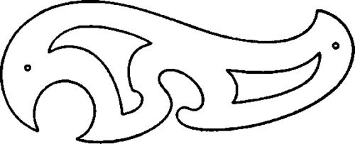 500x203 irregular curve