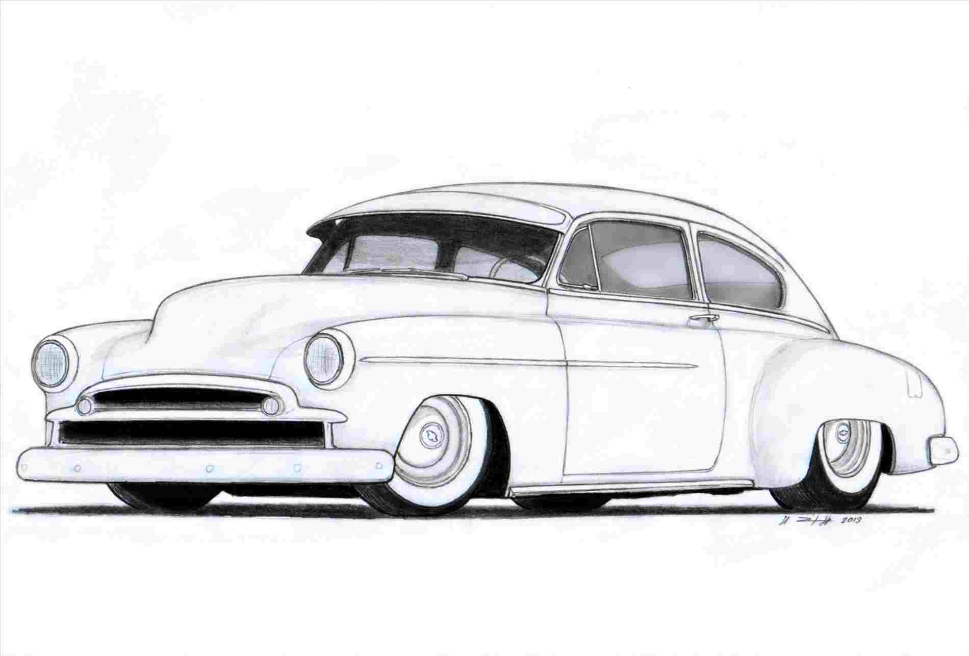 1900x1286 Lowrider Car Drawings In Pencil