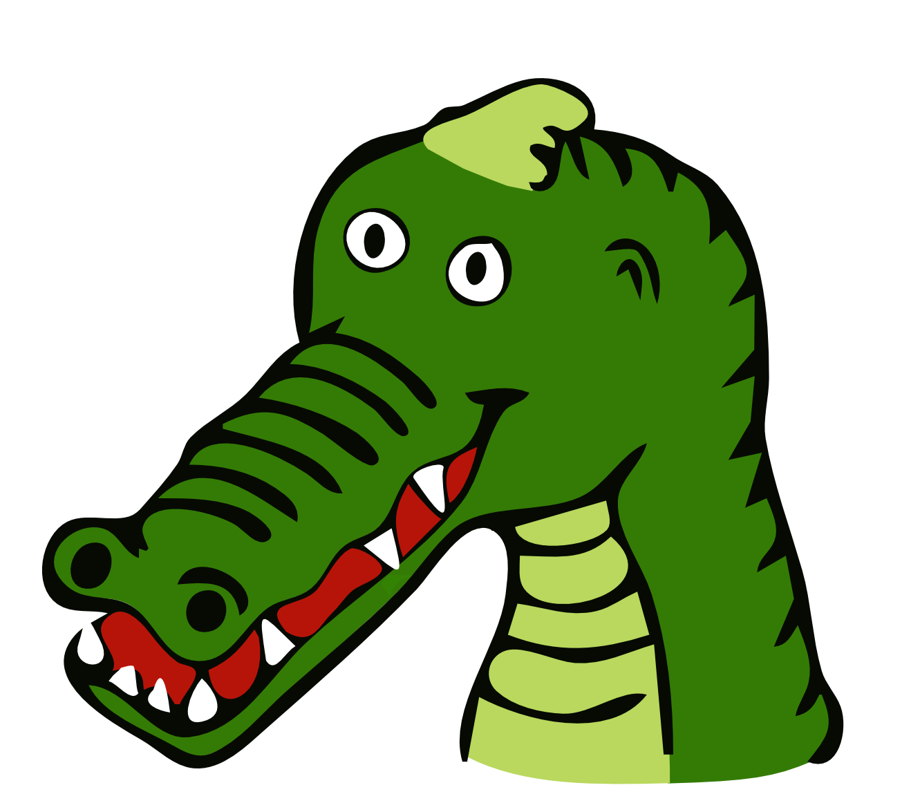 1331x1175 Collection Of Free Alligator Drawing Cute Download On Ui Ex