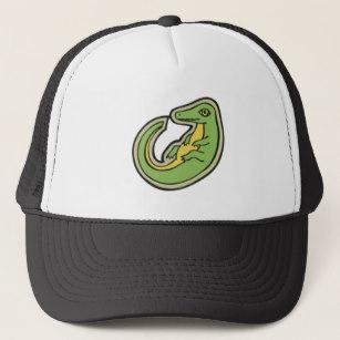 307x307 Cute Green Yellow Alligator Drawing Accessories Zazzle
