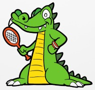 190x180 Funny Cool Cute Crocodile Alligator Reptile Mouse Pad Spreadshirt