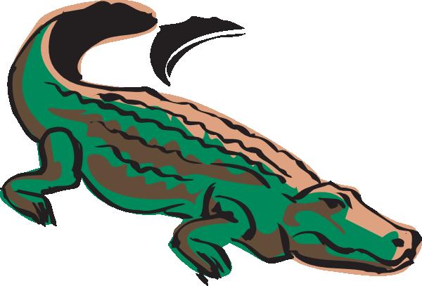 600x407 Transparent Alligator Colored Transparent Png Clipart Free