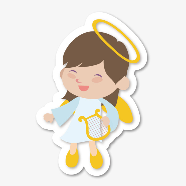 650x651 vector cute angel, angel vector, vector, lovely png and vector