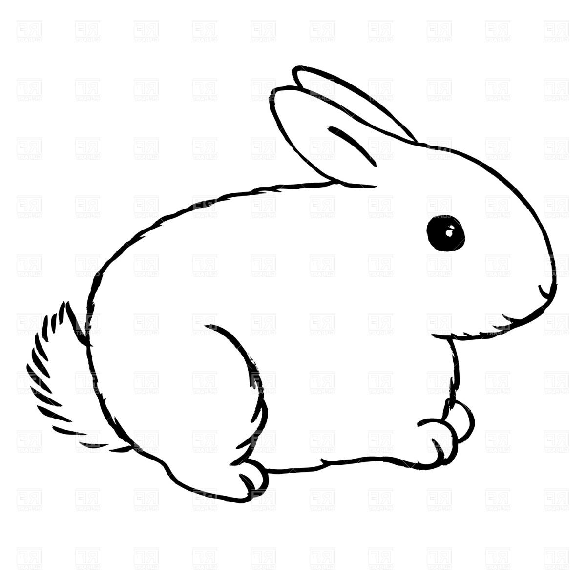 Bunny Clipart Black And White | Free download on ClipArtMag |Cute Rabbit Clipart Black And White
