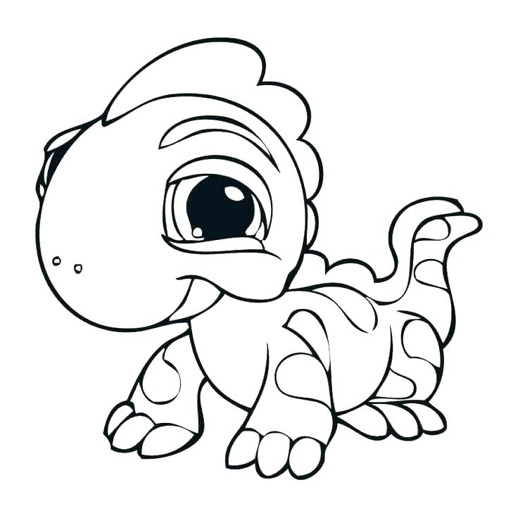 736x736 Lizard Drawing Cute Baby For Free Download
