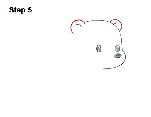 500x386 Cute Drawings Of Polar Bears Cute Drawings Of Polar Bears For Kids