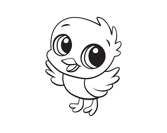 678x540 cute baby chick coloring pages chick coloring pages chicks ba