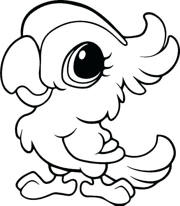 618x708 Monkey Drawing Cute