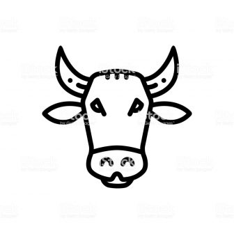 336x336 Cute Cow Face Drawing Clipart A Baby Jersey Side Ajedrezdeen