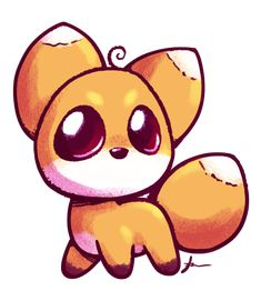 235x271 Fascinating Cute Fox Drawing Images Cute Drawings, Foxes