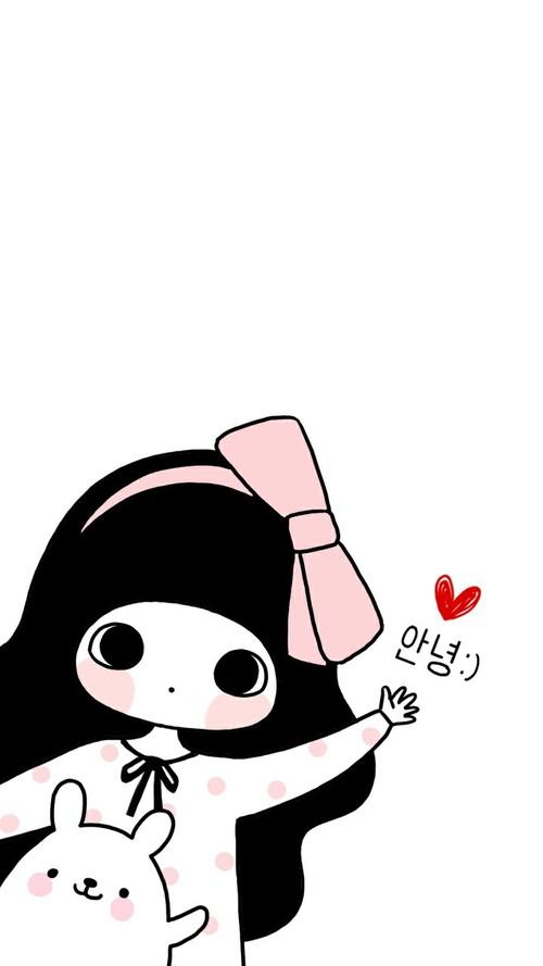 500x889 bongja, art, art girl, baby, baby doll, baby girl, background