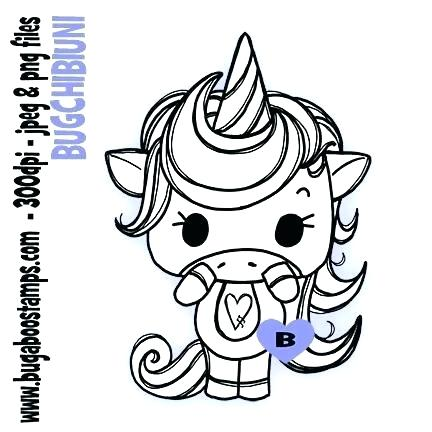Cute Baby Unicorn Drawing Free Download On Clipartmag