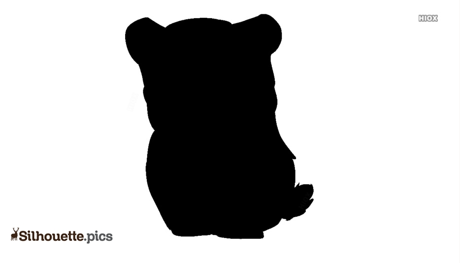 934x534 Cute Angry Bear Drawing Silhouette Silhouette Pics